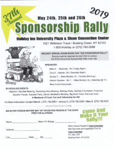 37th Annual Sponsorship Rally @ Sloan Convention Center | Bowling Green | Kentucky | United States