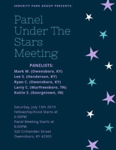 Panel Under The Stars Meeting @ 320 Club