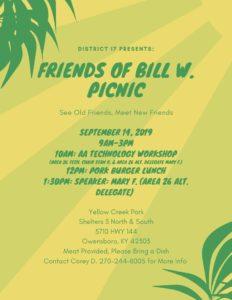 Friends of Bill W. Picnic