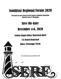 2020 Southeast Regional Forum @ Golden Nugget Biloxi Waterfront Hotel
